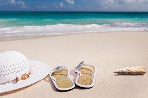 dovolená, opalování, pláž, slunce