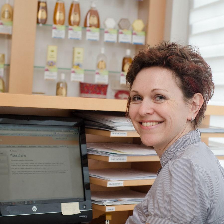 obchodní asistentka Pleva, Jitka Šimková