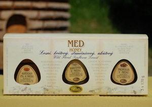 Dárková krabička s medy - Pleva
