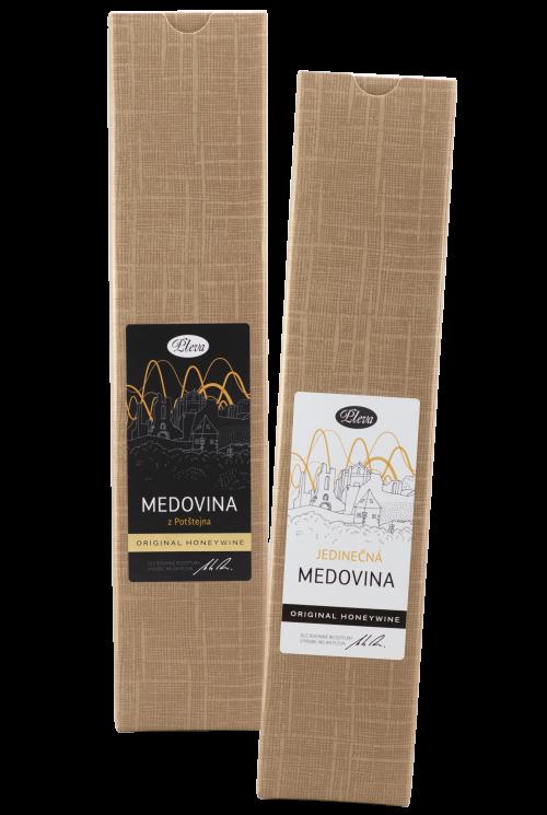 Dárková krabice na medovinu, medovina dárkové balení