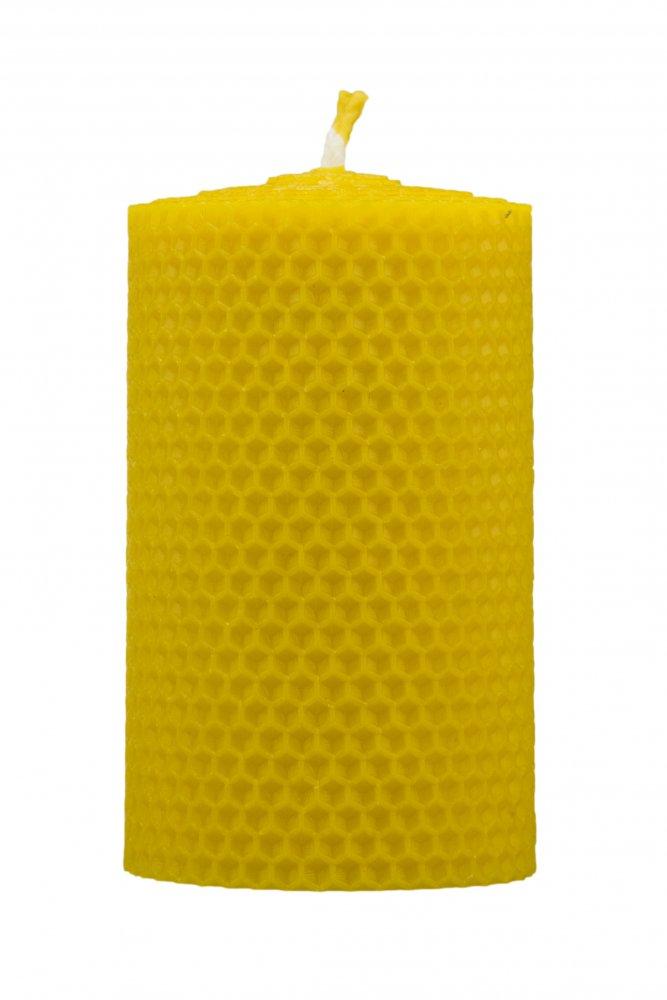 Pleva Svíčka ze včelího vosku, šíře 70mm, výška 100mm