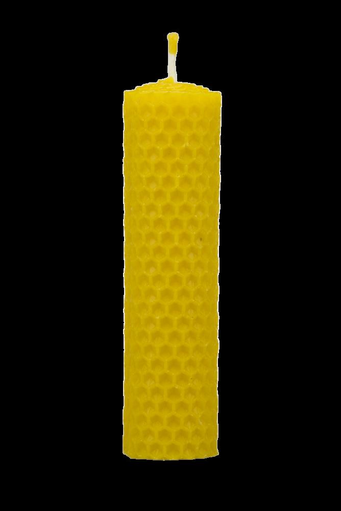 Pleva Svíčka ze včelího vosku, šíře 30mm výška 120mm