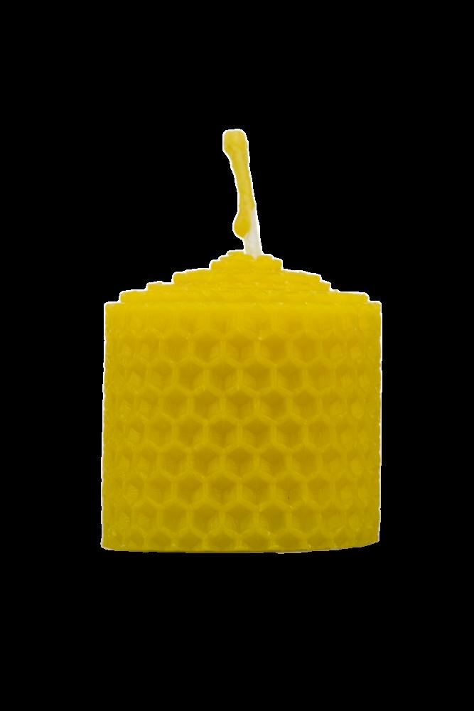 Pleva Svíčka ze včelího vosku, šíře 40mm výška 40mm
