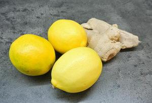 Zázvorový sirup s citronem a medem, posílení imunity - Pleva