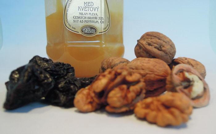 sada pro vánoční tvoření, med, český květový med, pečení cukroví, vánoční med pleva