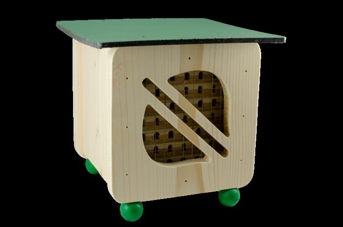 Hmyzí hotel pro včelky samotářky Pleva