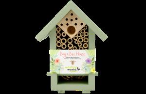 Hmyzí hotel malý pro užitečný hmyz a včelky samotářky, Pleva