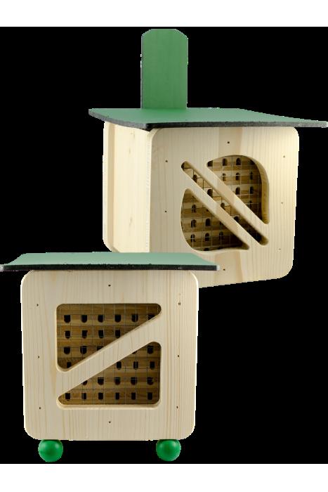 Hmyzí hotel pro včelky samotářky