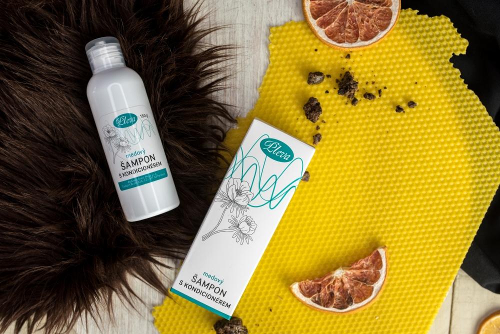 Medový šampon s kondicionérem, Pleva