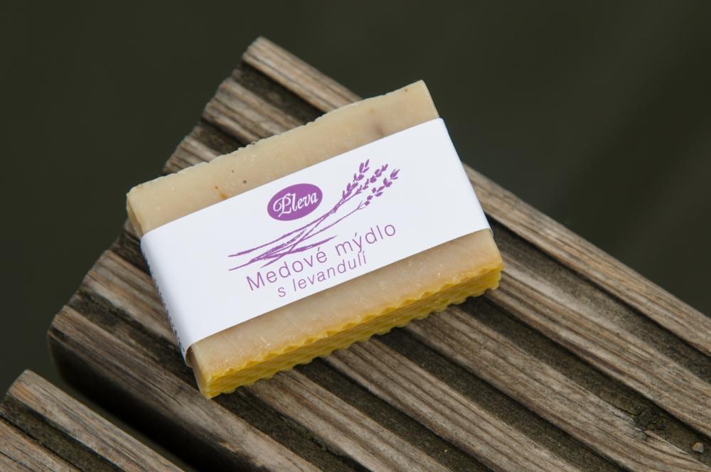 Natural soap with lavender, Pleva