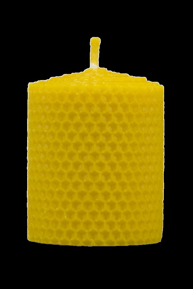 Pleva Svíčka ze včelího vosku, šíře 60mm, výška 67mm