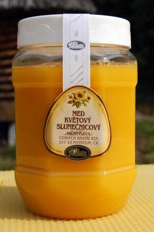 Med slunečnicový pastovaný 950g - Pleva