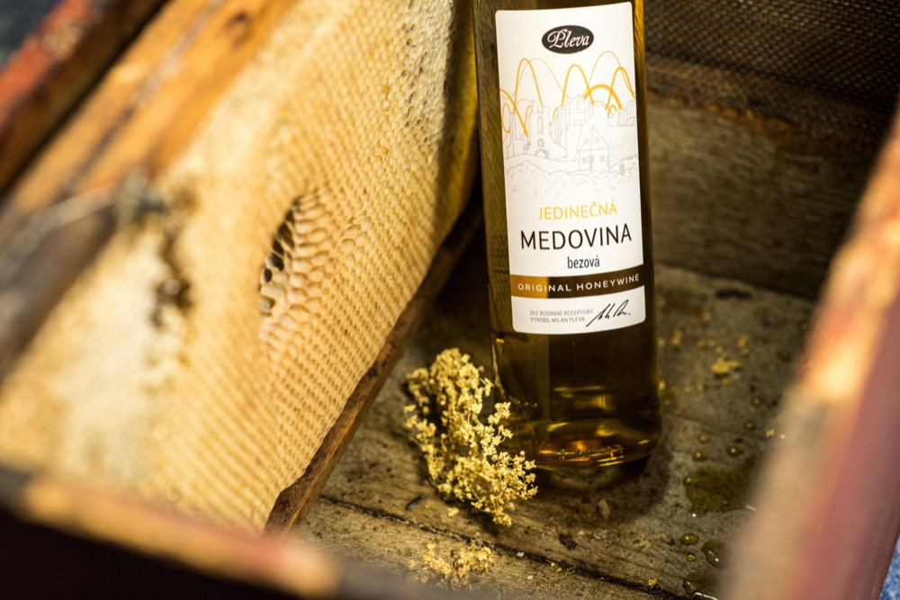 Degustační výběr medovin Pleva