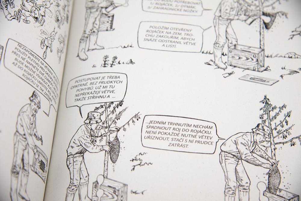 Kniha Ilustrované včelařství, Yves Gustin