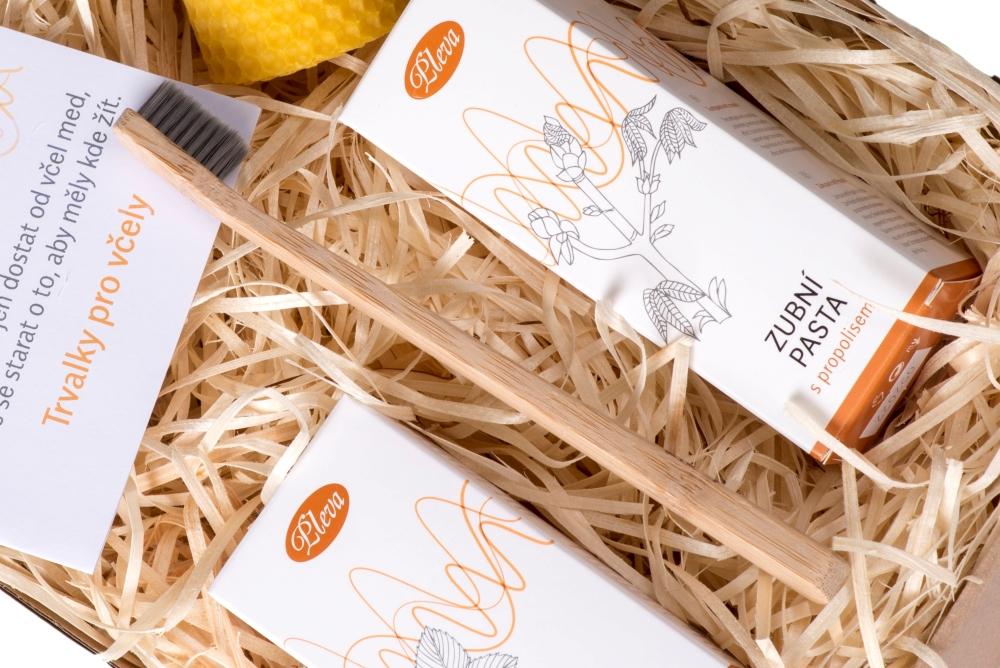 Bambusový zubní kartáček Mama Natura