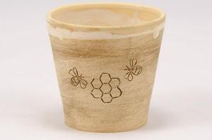 Chráněné dílny Kopeček keramický pohárek - Pleva