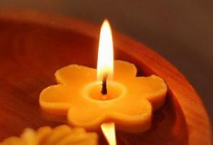 svíčka ze včelího vosku, zdravotní účinky, Pleva