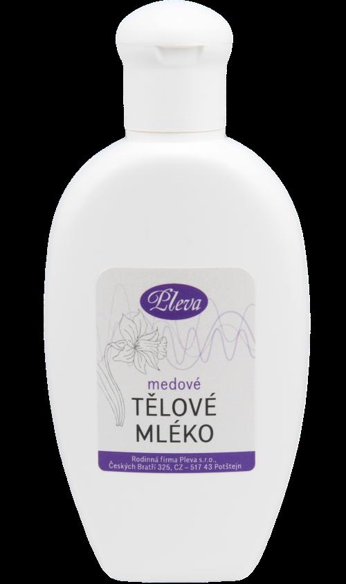 Medové tělové mléko, přírodní složení