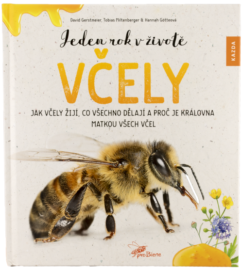 Dětská ilustrovaná kniha, Jeden rok v životě včely, pleva