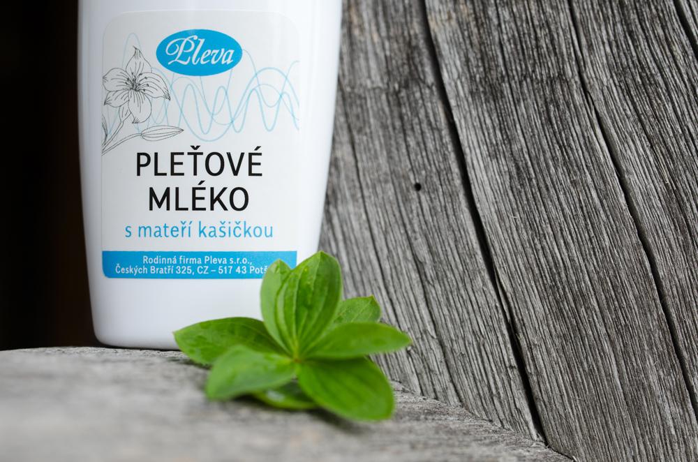 Pleťové mléko s mateří kašičkou - Pleva