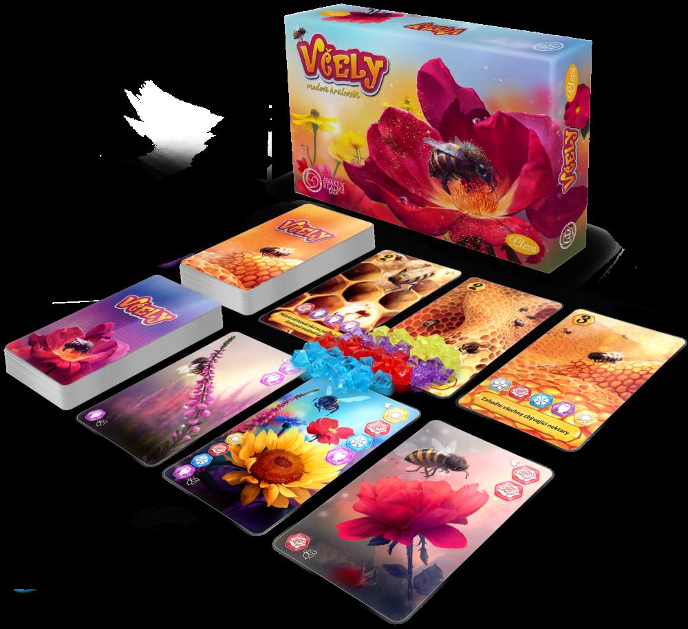 Včely: Medové království - karetní hra Pleva
