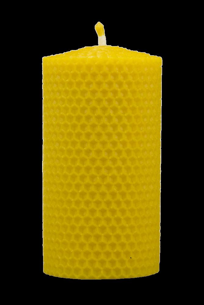 Pleva Svíčka ze včelího vosku, šíře 60mm, výška 100mm