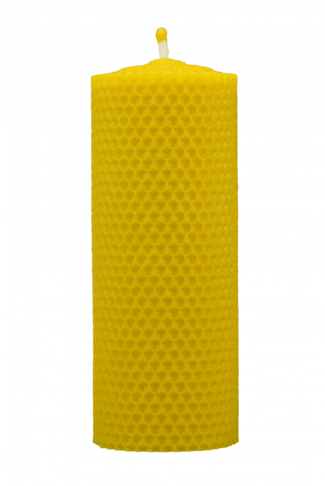 Pleva Svíčka ze včelího vosku, šíře 60mm, výška 133mm